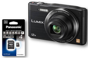 Panasonic LUMIX DMC-SZ8K+SD4GO