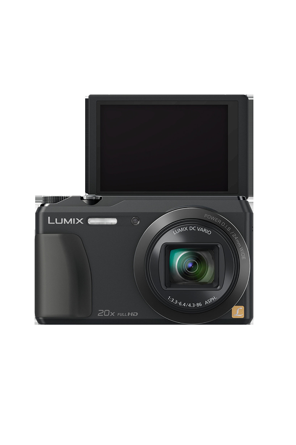 Appareil photo compact panasonic lumix dmc tz55 4000021 for Appareil photo ecran 180