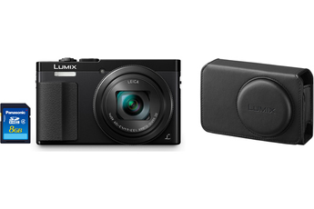 Appareil photo compact LUMIX TZ70+HOUSSE+SD 8GO Panasonic