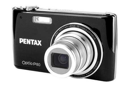 Appareil photo compact Pentax OPTIO P80 NOIR | Darty