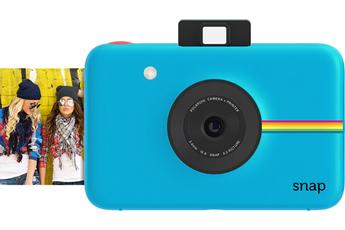 f18a438dbee914 Appareil photo instantané SNAP BLEU + 1 FILM DE 10 PHOTOS Polaroid