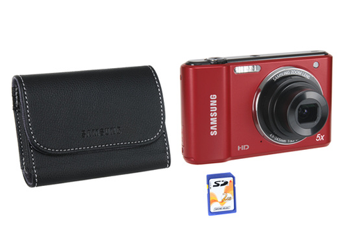 Samsung ES 90 ROUGE + HOUSSE + CARTE SD 2 GO