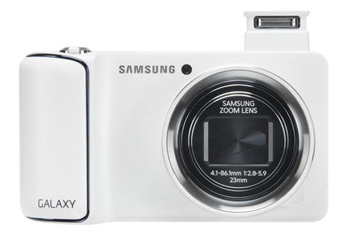 appareil photo compact samsung galaxy cam blanc wifi 3g 3670627. Black Bedroom Furniture Sets. Home Design Ideas