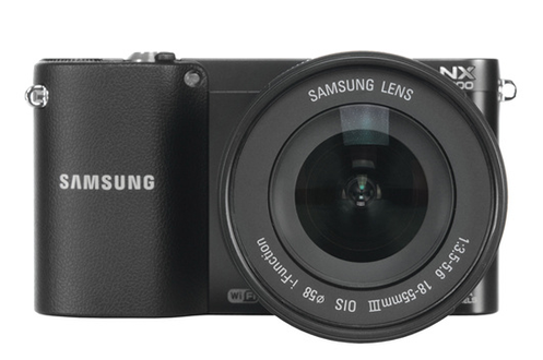 Samsung NX1000 NOIR + 18-55 MM + FLASH