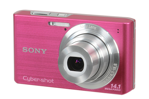 Appareil photo compact SONY DSC W610 ROSE