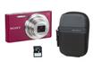 Appareil photo compact DSC-W830 ROSE ETUI+4GO Sony