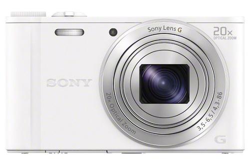 Appareil photo compact DSC-WX350 BLANC Sony