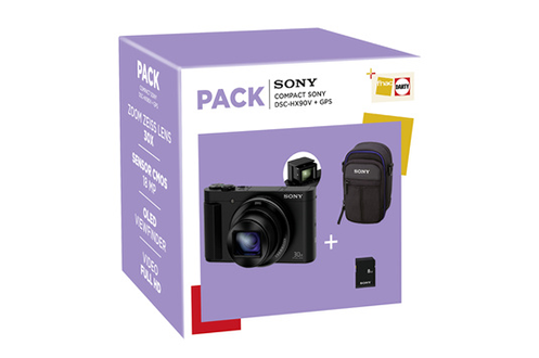 Sony PACK DSC-HX90V + ETUI + CARTE SD 8GO