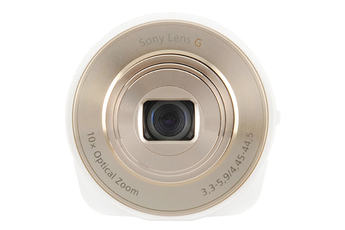 Appareil photo compact SMART LENS DSC-QX10 BLANC/OR Sony