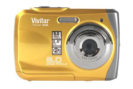 appareil photo compact vivitar v8426 jaune etanche darty. Black Bedroom Furniture Sets. Home Design Ideas