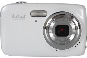 Appareil photo compact VX022 BLANC Vivitar