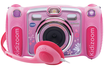 Appareil photo compact KIDIZOOM DUO ROSE Vtech