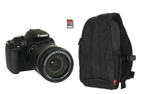 Canon EOS 1200D 18-135mm + Sac 300EG + SD 8Go