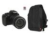 Reflex EOS 1200D 18-135mm + Sac 300EG + SD 8Go Canon