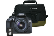Reflex Canon EOS 1300D +18-55MM + HOUSSE + SD 8GO