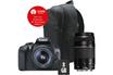 Reflex EOS 1300D + EF-S 18-55MM DC III + EF 75-300mm f/4-5.6 III + Sac + SD 8GO Canon