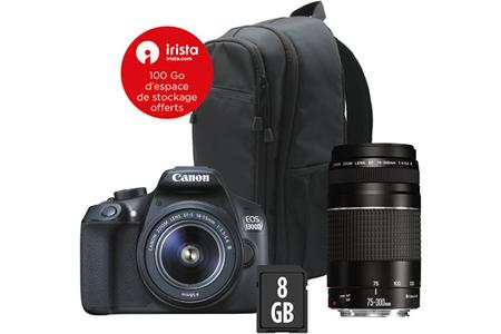 e7c6aaa5999ea6 Reflex Canon EOS 1300D + EF-S 18-55MM DC III + EF 75-300mm f 4-5.6 ...