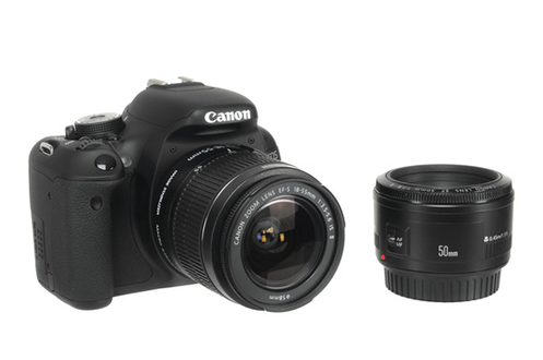 Canon EOS 600D + 18-55 IS + 50MM F1,8