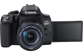 Appareil photo Reflex Canon EOS 850D + 18-55 IS