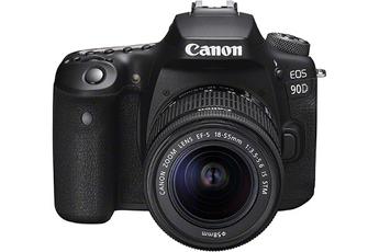 Appareil photo Reflex Canon EOS 90D, Objectif EF-S 18-55mm IS...