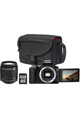 Canon PACK REFLEX 250D + 18-55 IS STM + SACOCHE + SD 16GO