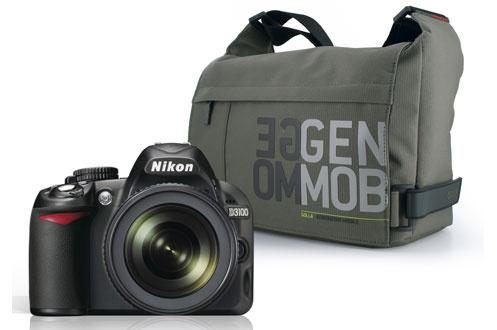 Nikon D3100+18-105MM+ETUI GOLLA
