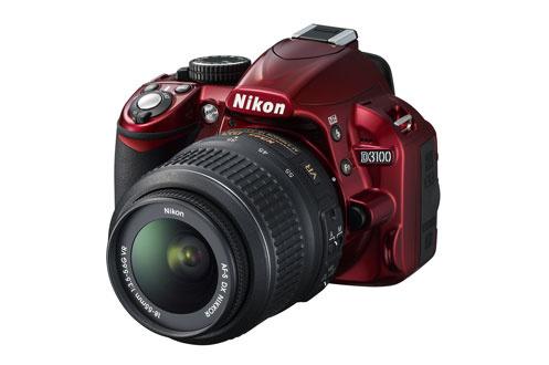 Reflex D3100 ROUGE+18-55 VR Nikon
