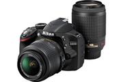 Nikon D 3200 KIT 18-55 VR II + 55-200 VR