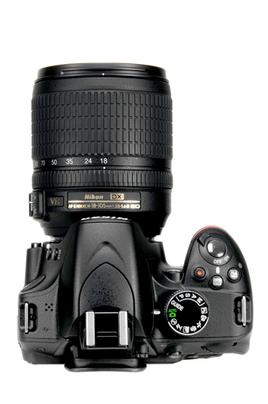 Reflex Nikon D3200+18-105VR