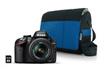 Nikon D3200 + 18-55VR + FOURRE TOUT BLEU + 8 GO photo 1