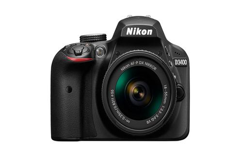 Capteur CMOS 24,2 Mpixels sans filtre passe bas Ecran LCD 7,5 cm de 921K pixels Video HD 1080p - Mode rafale 5 im/sec Livré avec optique AF-P 18-55mm VR