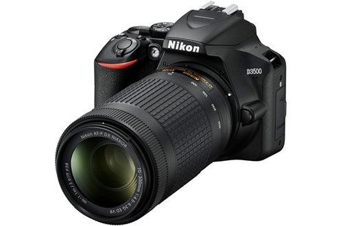 Nikon Kit D3500 + AF-P DX 18-55 f/3.5-5.G VR + AF-P DX 70-300 f/4.5-6.3G ED VR