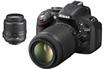 Reflex D5200 + 18-55mm VR + 55-200mm VR Nikon