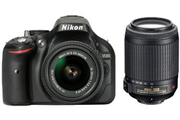 Nikon D5200 KIT18-55 VR II + 55-200 MM