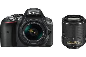 Reflex D5300 + AF-P 18-55mm VR + 55-200mm VR II Nikon