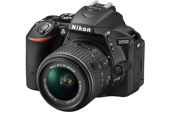 Reflex D5500 + 18-55VRII Nikon