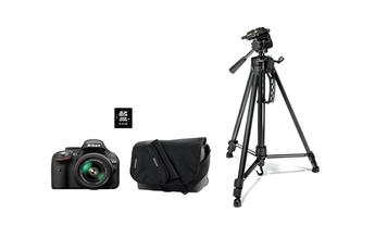 Reflex D5200 + 18-55VR II + FOURRE-TOUT + SD 8GO + TREPIED Nikon