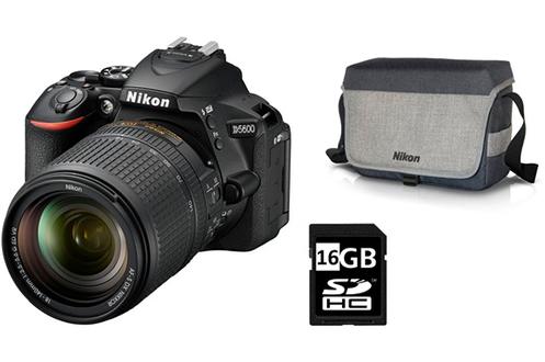 Nikon PACK D5600+18-140 VR +FT+SD16GO
