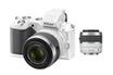 Appareil photo hybride 1 V2 KIT BLANC + 10-30 mm + 30-110 mm Nikon