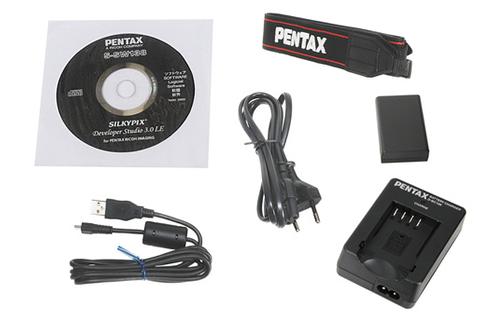 Reflex Pentax K-50 NOIR + 18-55 WR + 50 MM F/1,8