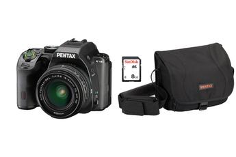 Reflex KS-2 + 18-50mm + Fourre-tout + Carte SD Pentax