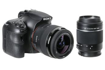 Reflex SLT A58 + 18-55 MM + 55-200 MM Sony