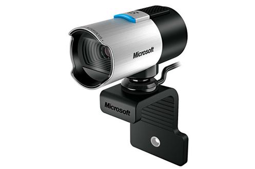 Vidéo HD 1080p Résolution photo 8 mégapixels Microphone intégré Optimisé pour Skype - Pied pivotant à 360°