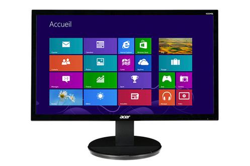 Avis clients pour le produit ecran pc acer k222hqlbd for Prix ecran ordinateur