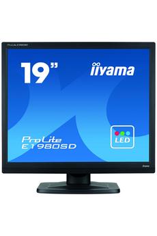 Ecran informatique E1980SD-B1 LED Iiyama