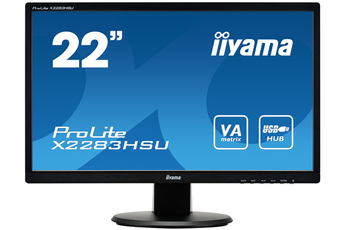 Ecran informatique X2283HSU-B1DP Iiyama