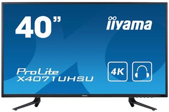 Ecran informatique X4071UHSU-B1 4K Iiyama