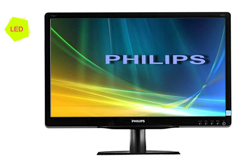 ecran informatique philips 196v4lsb2 10 led 196v4lsb2 10 3668797. Black Bedroom Furniture Sets. Home Design Ideas