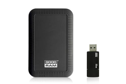 Disque dur externe DISQUE DUR 1TERA + CLE USB 32 GO Goodram