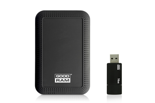 Disque dur externe PACK HDD 1TB +CLE Goodram